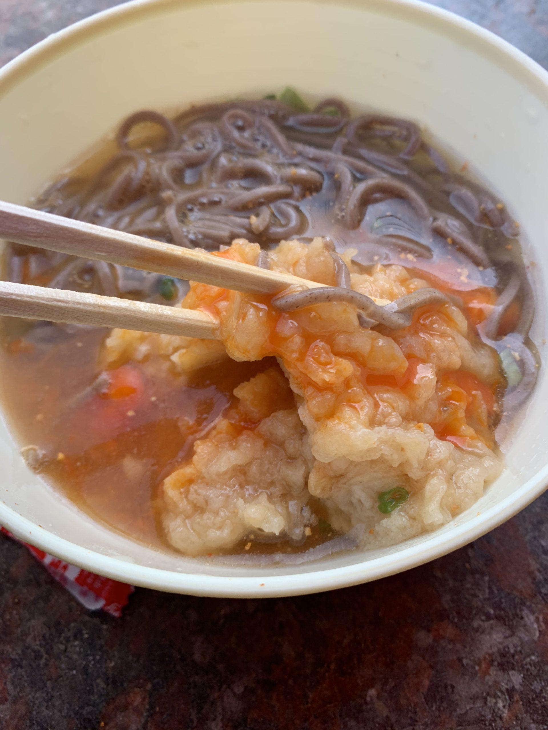石田鶏卵龍の玉子+天ぷら