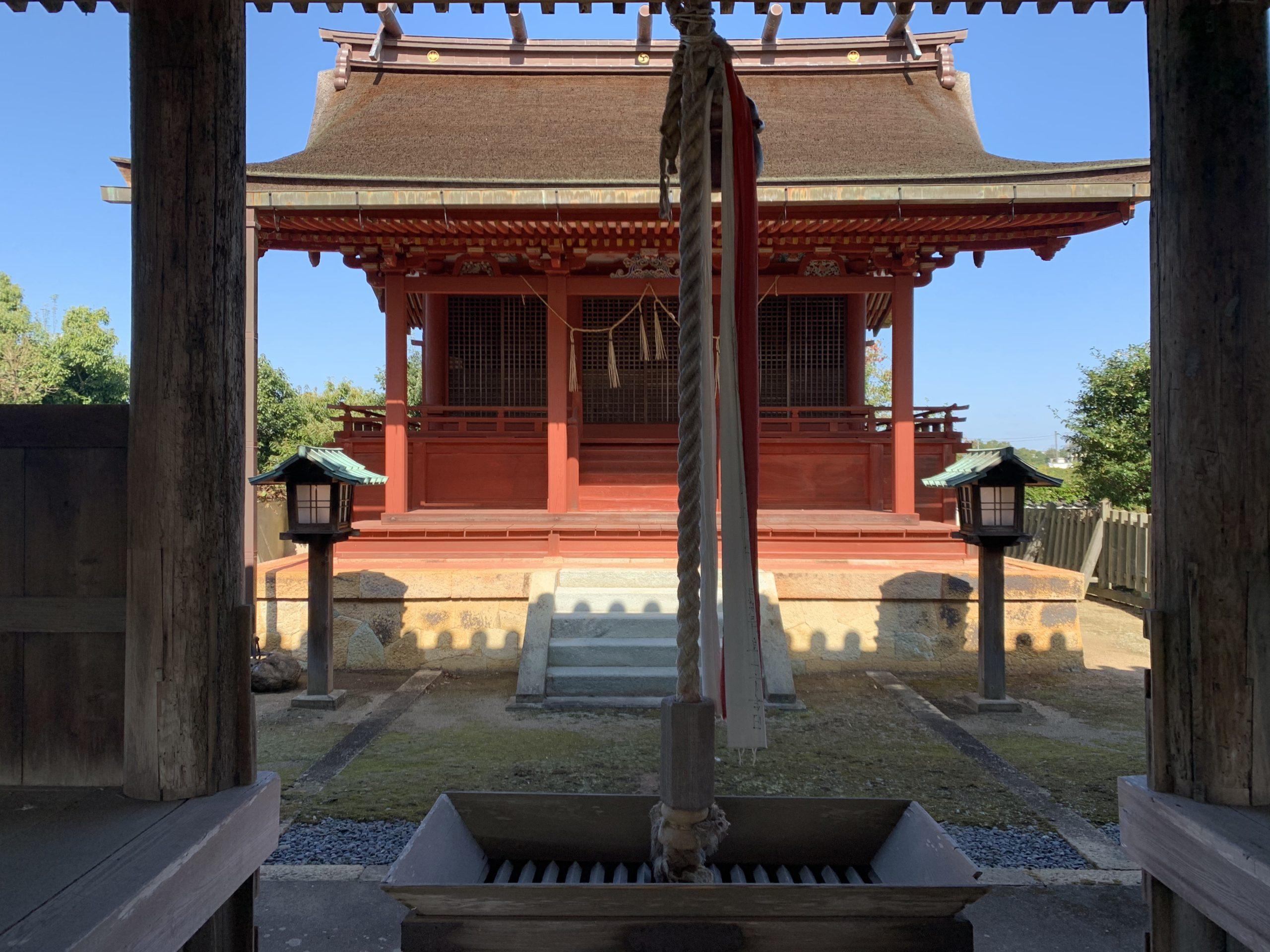 おお!八幡神社だ!!